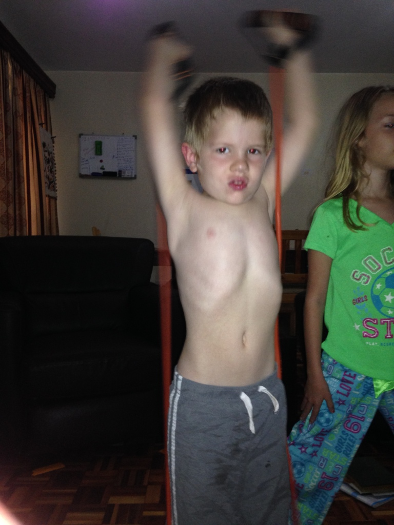 01.30- exercising with mommy