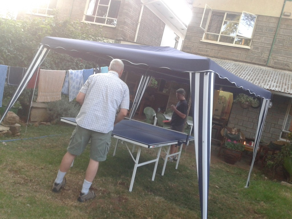 11-great friends, campfires and ping pong