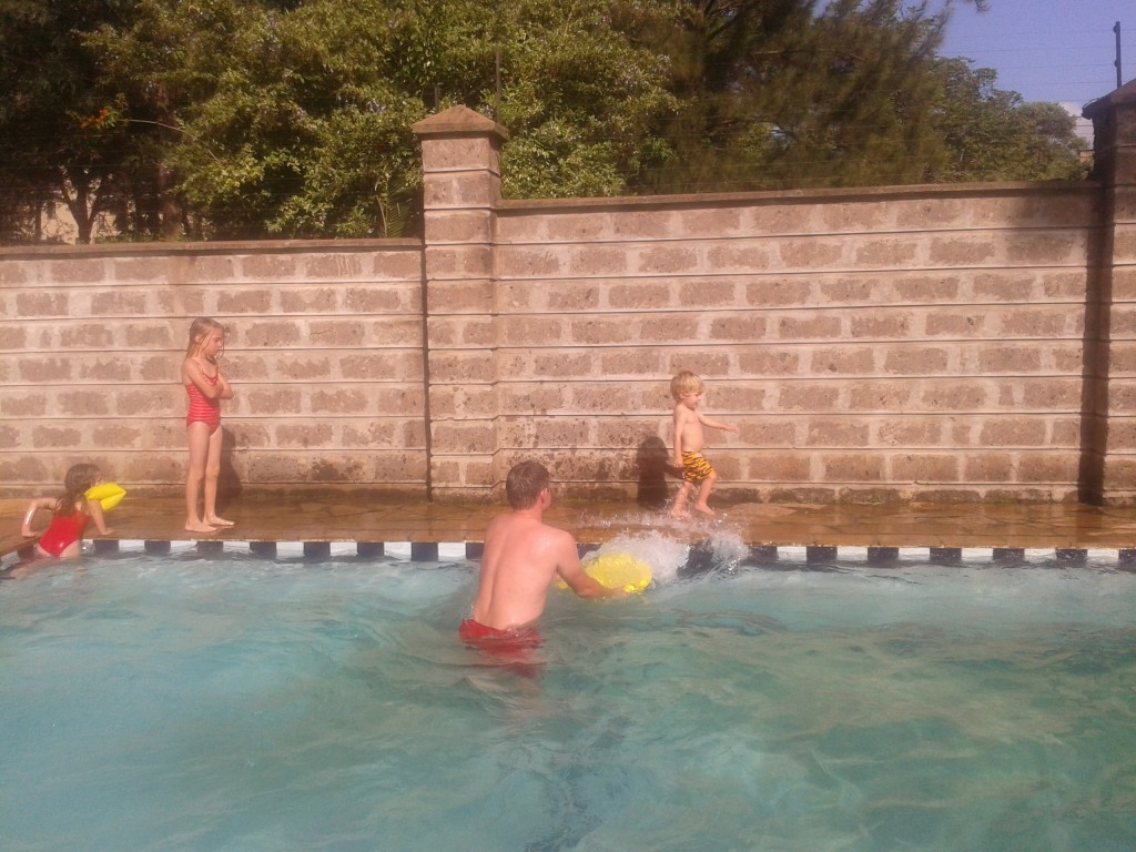 """20-Pool time together in the """"summer"""" and lots and lots of giggles"""