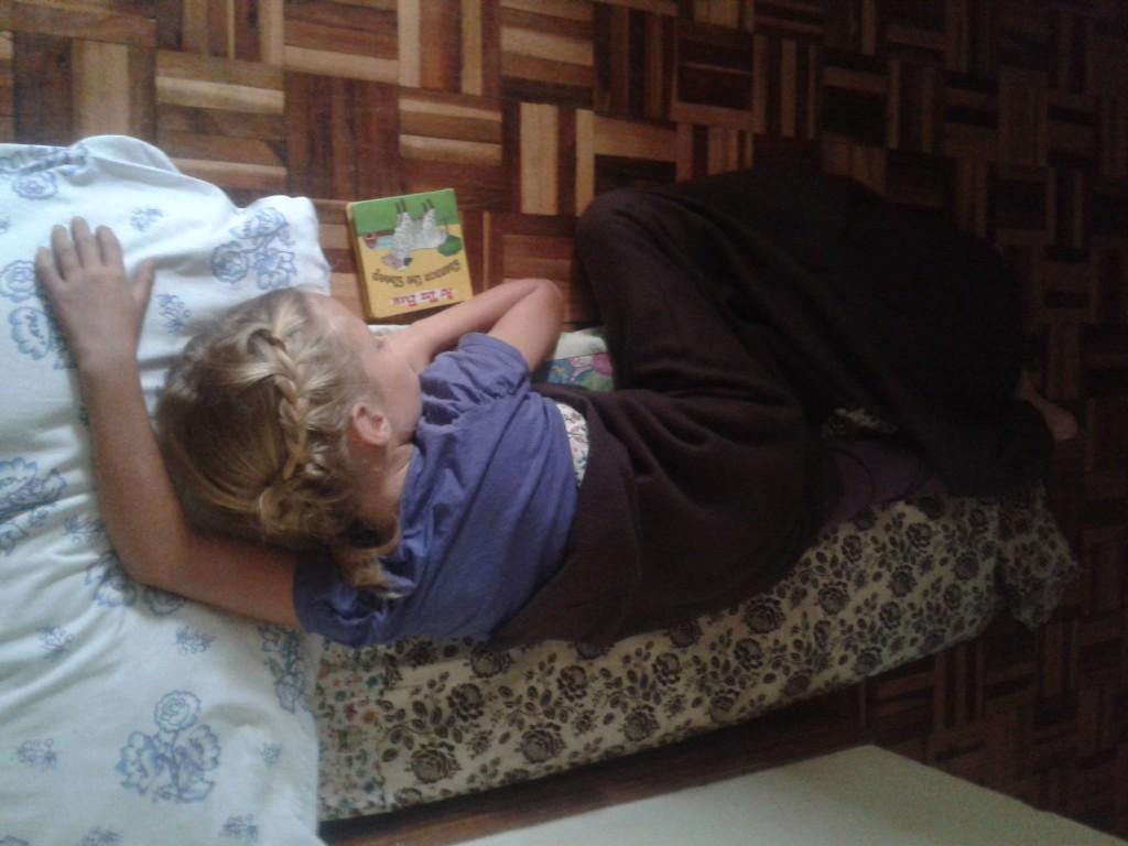 Nap Mats that help tired girls fall fast asleep
