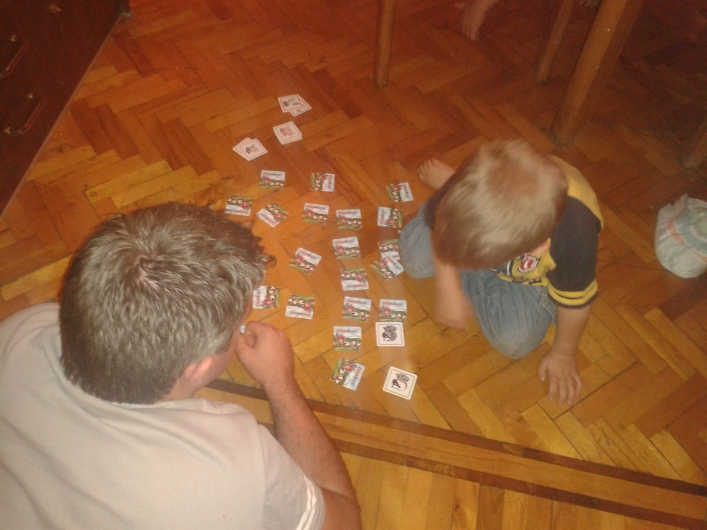 17-memory with Dad ... W--is getting quite good!