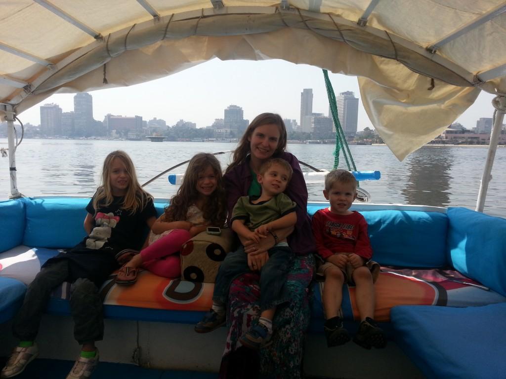 03-A faluca ride as a family