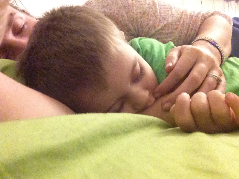 09-sweet cuddles with my baby