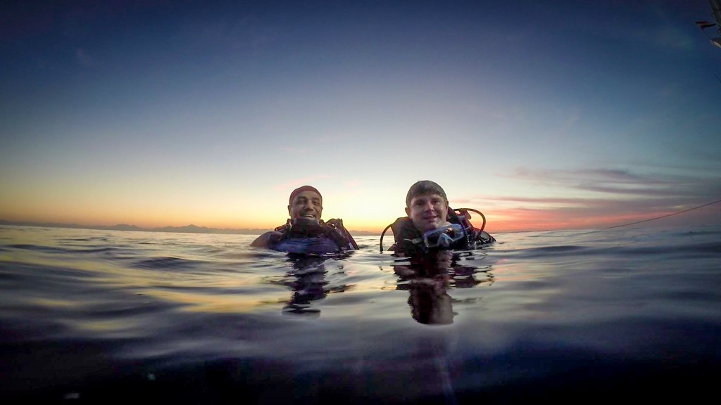 11.07-diving with a friend