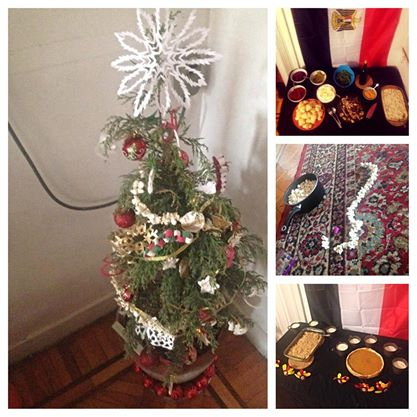 11.28-Thanksgiving and Christmas decorations