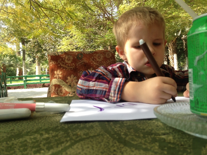 10.11- coloring at the park