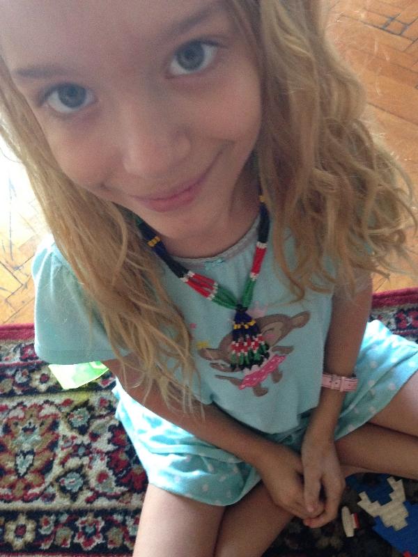 22-Sweet PJ wearing her SS necklace