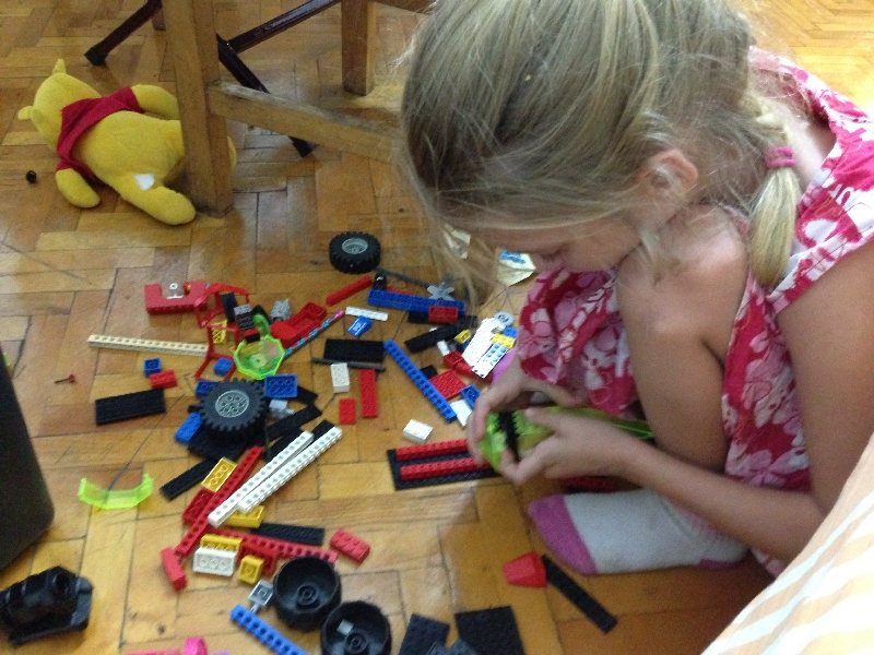 24-lego building