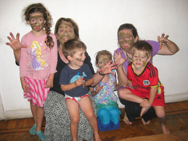10.26- facemasks with grandma