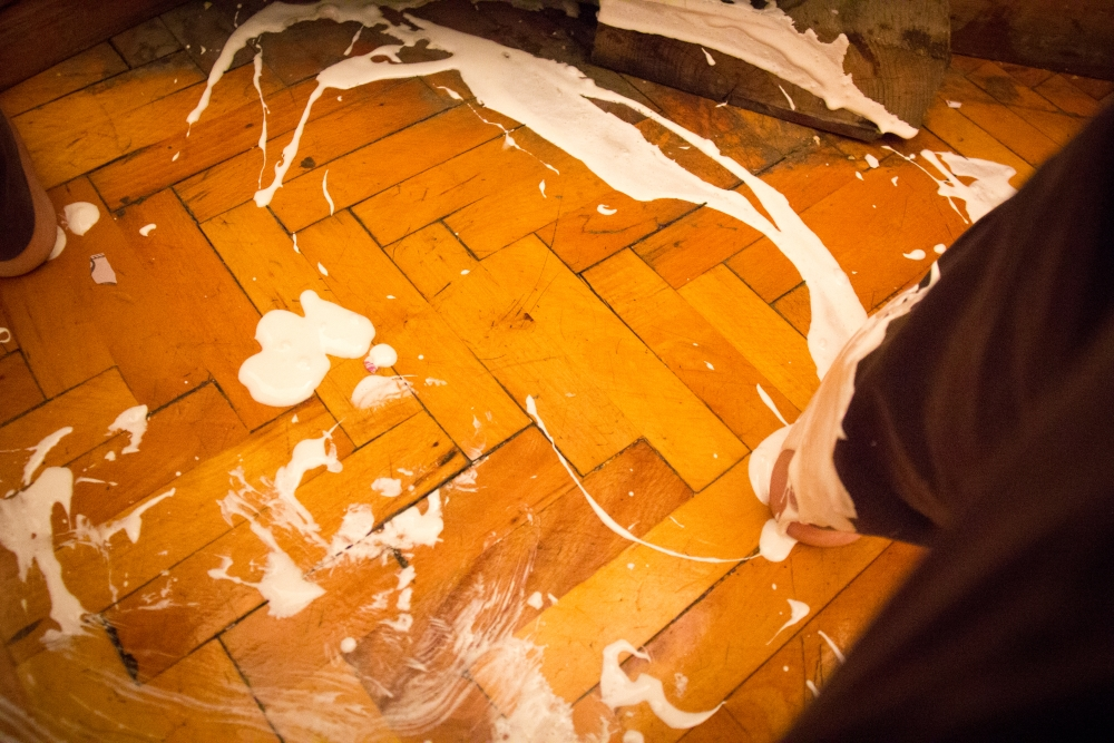 ...in true form I made a mess when I took over...this is at least 3x messier then it looks (sigh)