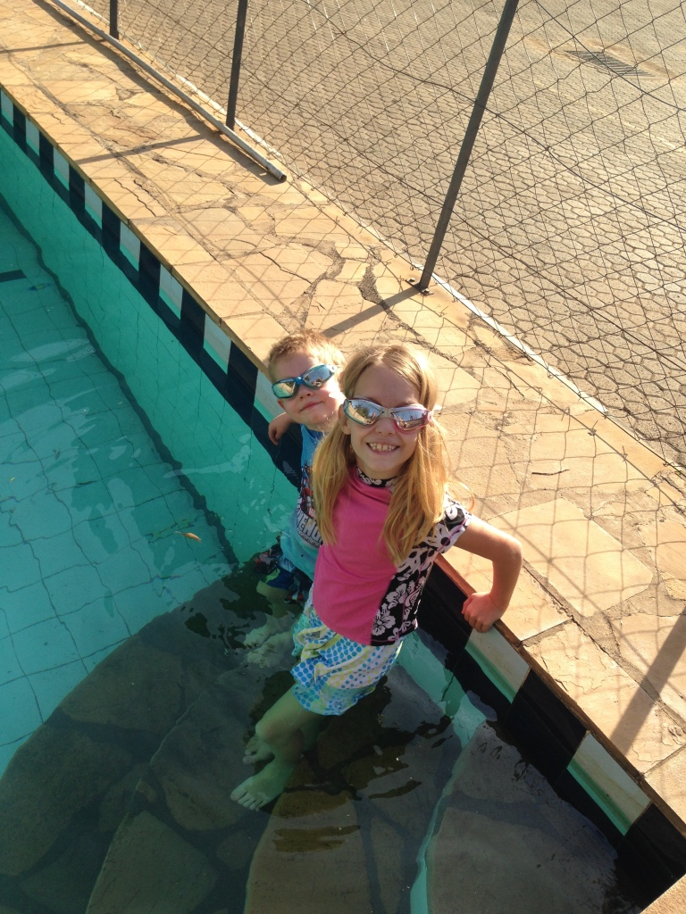 01.27-another day at the pool to beat the heat!