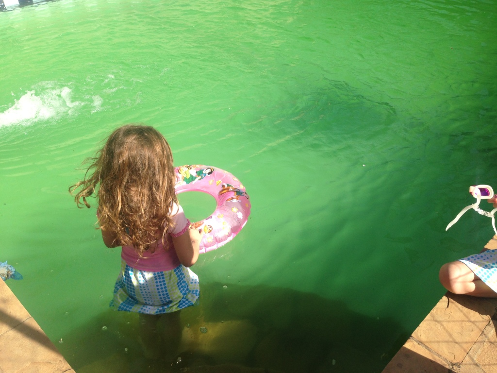 02.04-Yup this unedited photo is the water my kids swam in...I am grateful for baths...
